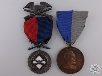 An American Civil War Medal Pair the First Regiment