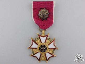 An American Legion of Merit; Officer's Breast Badge