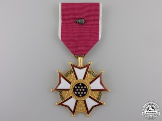 An American Legion of Merit; Legionnaire Grade with Oak Cluster