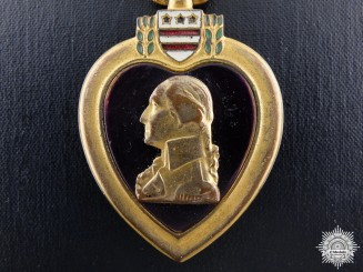 An American Purple Heart in Case of Issue