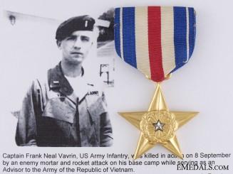 An American Silver Star; KIA Quang Ngai Province, Vietnam