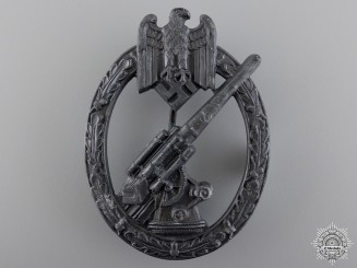 An Army Flak Badge by C.E. Juncker