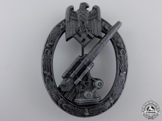 An Army Flak Badge by Herman Aurich