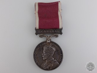 An Army LS & GC Medal to the Royal Canadian Ordnance Corps