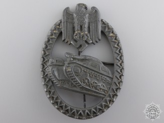 An Army Tank Badge for the Panzer Lanyard