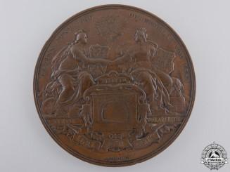An Austrian Arlberg Railway Tunnel Completion Medal 1883