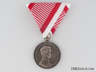 An Austrian First War Bravery Medal