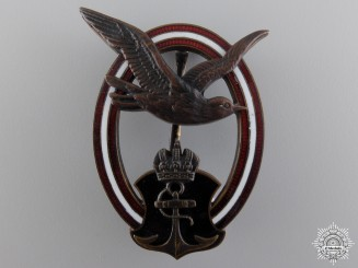 An Austrian Imperial Naval Badge by Rothe