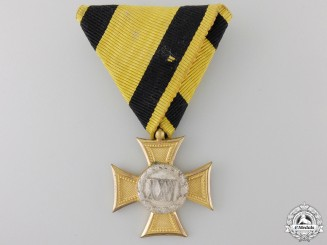 An Austrian Long Service Cross for 26 Years