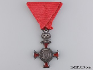 An Austrian Merit Cross 1849; 4th Class by F.Braun