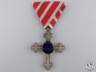 "An Austrian Merit Cross ""Piis Meritis"" for Military Chaplains"