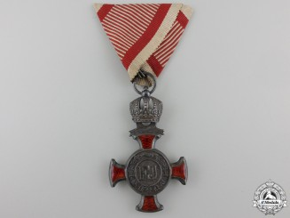 An Austrian Merit Cross; 4th Class by Wilm Kunz