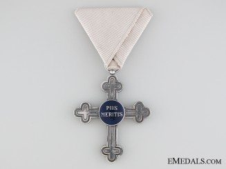 An Austrian Military Chaplains Merit Cross