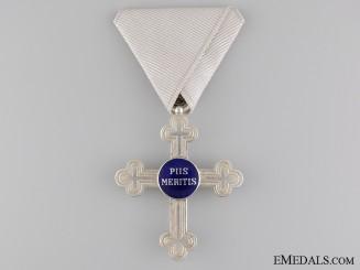 An Austrian Military Chaplains' Merit Cross; Second Class