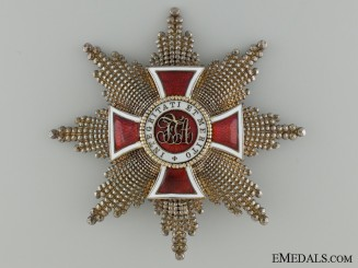 Austrian Order of Leopold; Grand Cross Star
