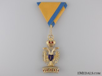 An Austrian Order of the Iron Crown; Third Class
