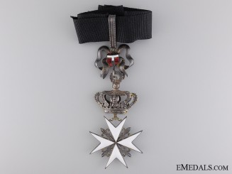 An Austrian Order of the Knights of Malta; Commander