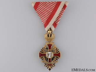 An Austrian Order of Franz Joseph; Knight, c.1918