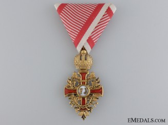 An Austrian Order of Franz Joseph; Knight Cross c.1918