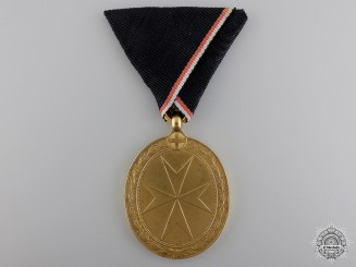 Austria, Empire. An Order of the Knights of Malta Medal, Gold Grade