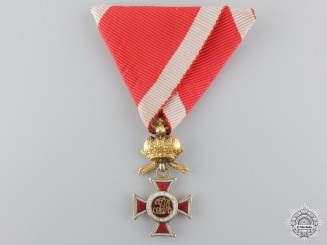 Austria, Imperial. An Order of Leopold in Gold, I Class Knight, Prinzen Size, c.1830