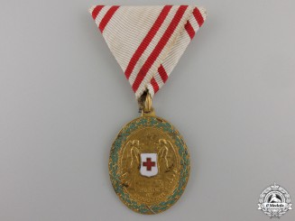 An Austrian Red Cross Honour Decoration