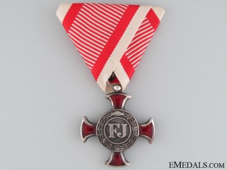 An Austrian Silver Cross of Merit