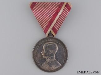 An Austrian Silver Bravery Medal 1St. Cl. 1859-1866