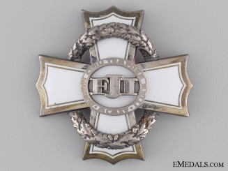 An Austrian War Cross for Civil Merit; Third Class Cross