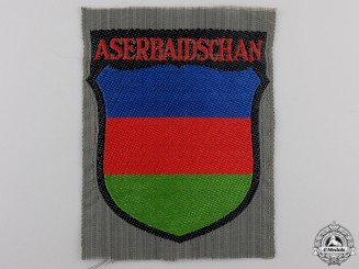 An Azerbaijani Volunteers Arm Shield