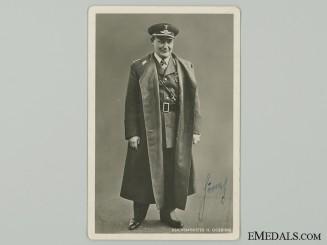 An Early 1933 Hermann Göring Signature