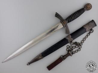 An Early 1st Model Luftwaffe Dagger by David Malsch; Unit Marked