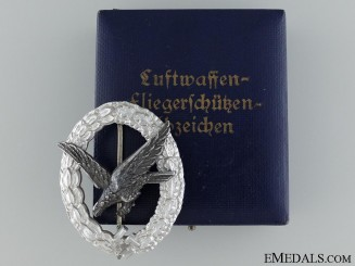 An Early Air Gunners Badge in Aluminum by Assmann