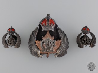 An Early and Rare Set of Canadian Air Force Insignia
