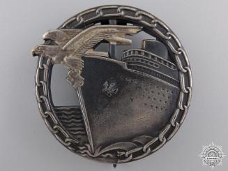 An Early Blockade Runner Badge by Schwerin, Berlin