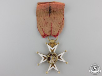 France, Napoleonic. An Order of St. Louis in Gold, c.1800