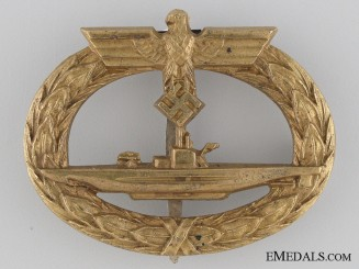 An Early German Submarine War Badge
