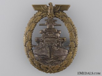 An Early High Seas Fleet Badge