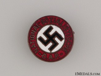 An Early NSDAP Party Member's Badge