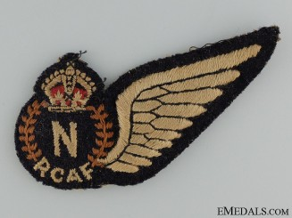 Canada. A Royal Canadian Air Force Navigator Wing
