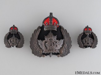 An Early Set of Canadian Air Force Insignia