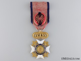 Sicily, Kingdom. A Royal Order of Francis I in Gold, Officers Cross, c.1830