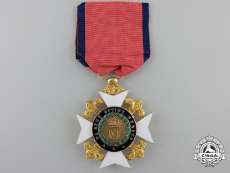 Sicily, Kingdom. A Royal Order of Francis I in Gold, I Class Knight, c.1850