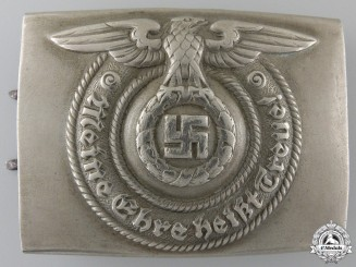 An Early SS Belt Buckle by Overhoff & Cie, Ludenscheid