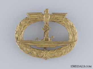 An Early Submarine War Badge