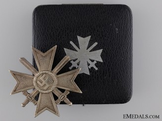 An Early War Merit Cross First Class 1939 with Case of Issue