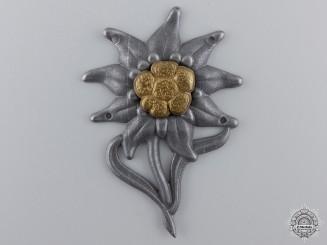 An Edelweiss Badge by Gustav Brehmer
