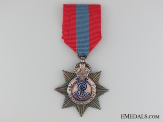 An Edward VII Imperial service Medal
