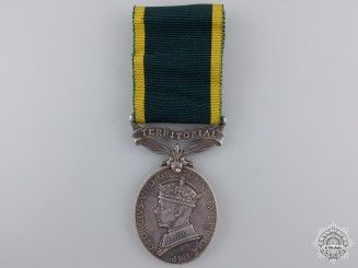 An Efficiency Medal to the Royal Artillery