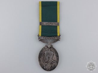 An Efficiency Medal to the Northern Bengal Mounted Rifles